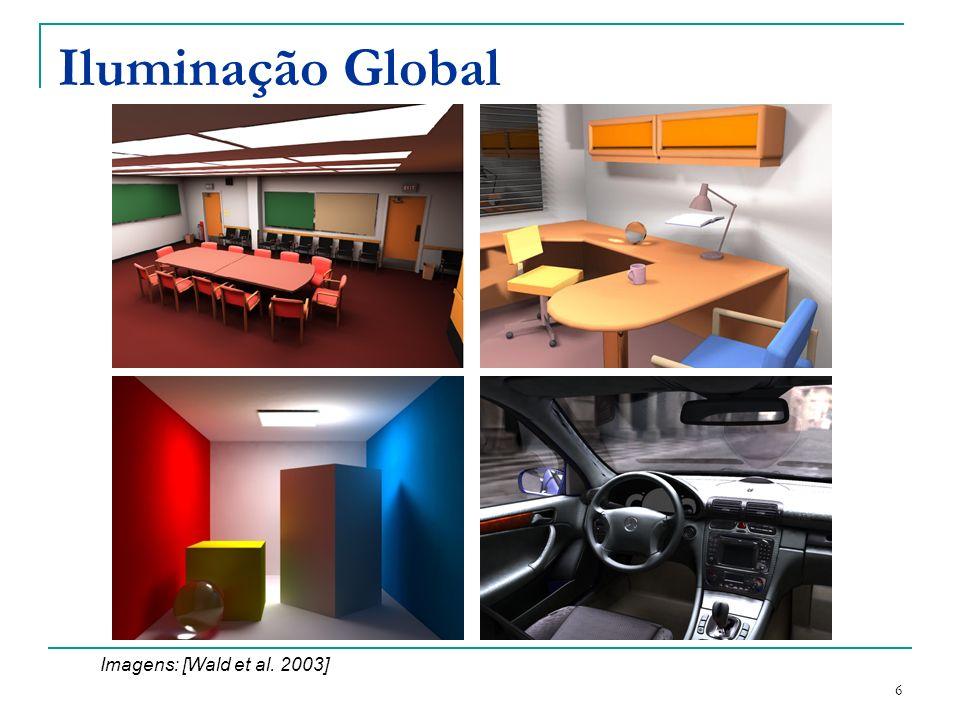 Iluminação Global Imagens: [Wald et al. 2003]